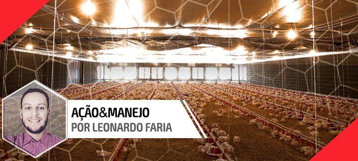 Capa do artigo sobre redução de custos na granja