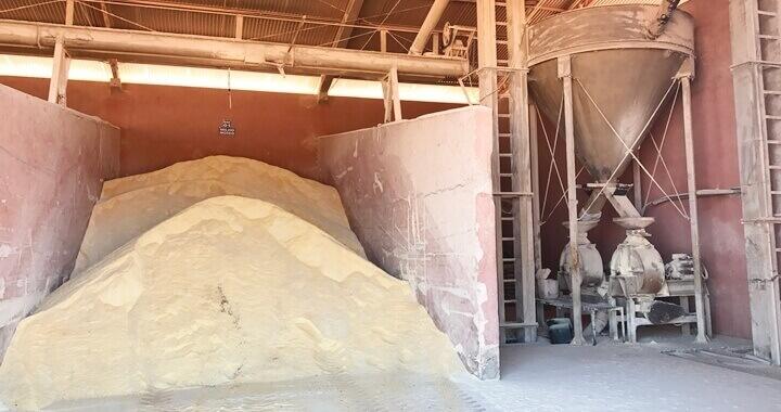moagem do milho : foto mostrando um milho moido