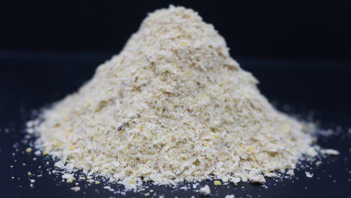 Figura 2. Milho moído (esquerda); gérmen de milho (direita)