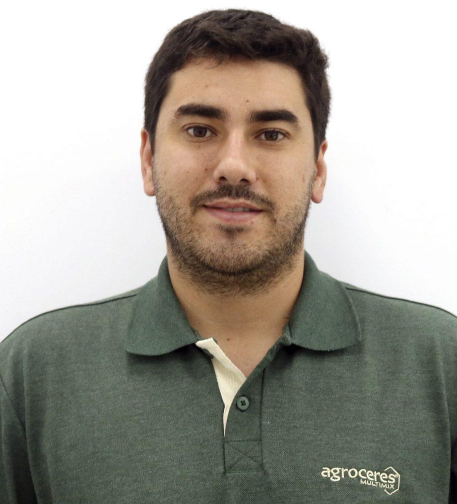 Guilherme Martini Bueno, consultor técnico da Agroceres no Mato Grosso.